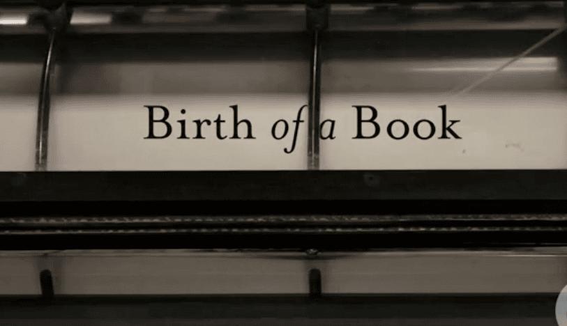 O Nascimento de um Livro