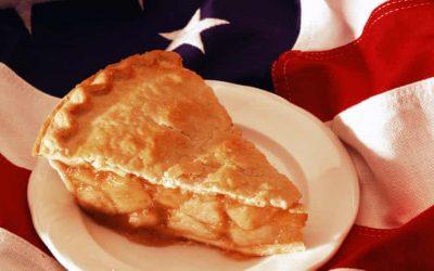 A torta de maçã? Não coma, é racista